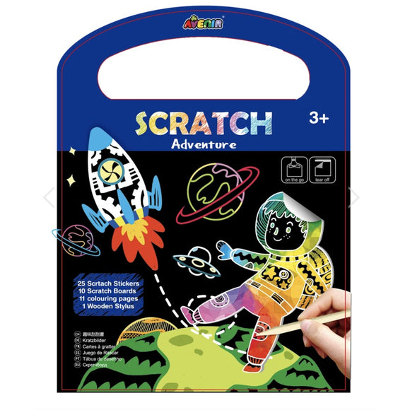 Avenir - Scratch Art Book