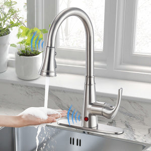 How to install Cobbe Touchless Kitchen Faucet?---------KC05T01