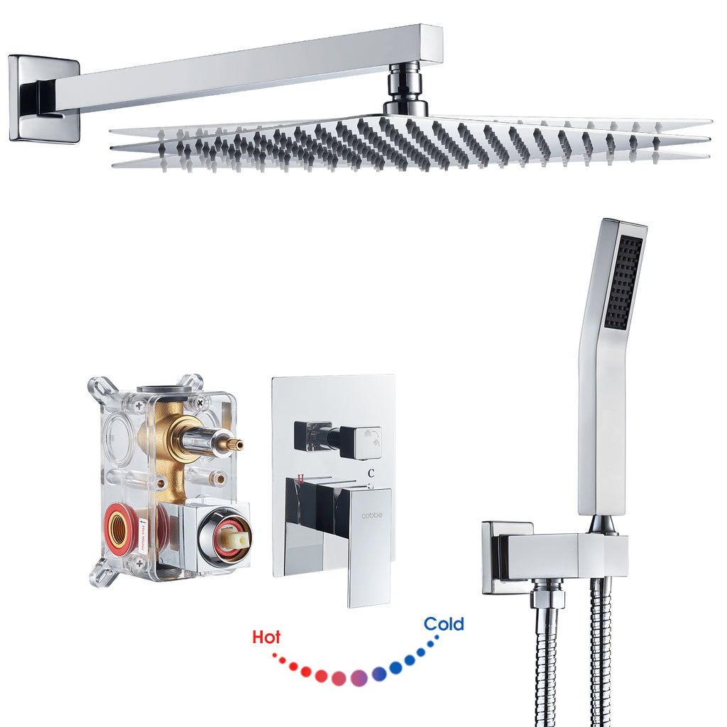 How to install Cobbe complete shower system?---KSA011、KSA012、KSA013