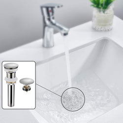 Bathroom Sink Pop Up Drain
