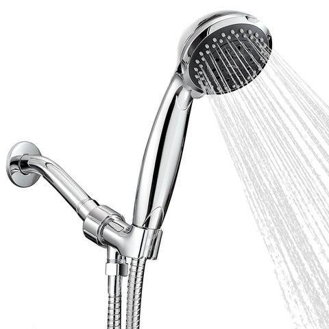 High Pressure Multi-setting Shower Head, Nose, and handle