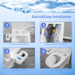 Bidet Controller Attachment