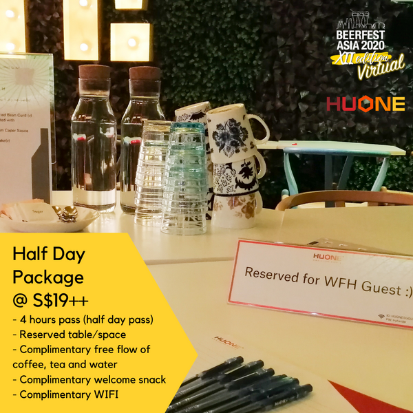 Work from HUONE Singapore (WFH) Packages