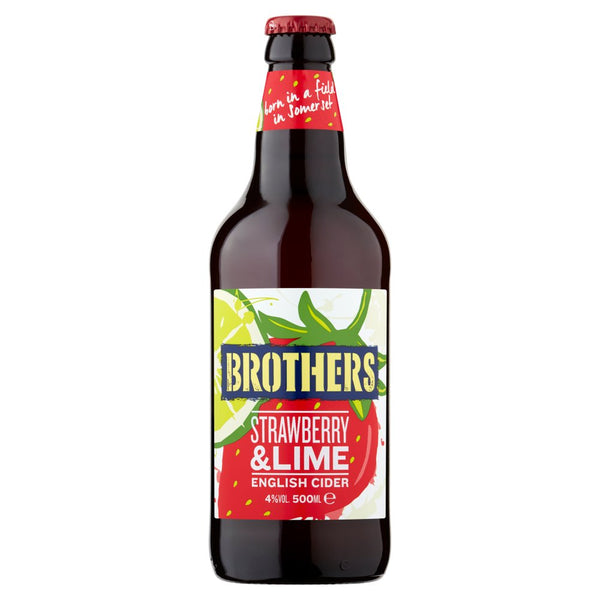 Brothers Strawberry and Lime - 12 Pack