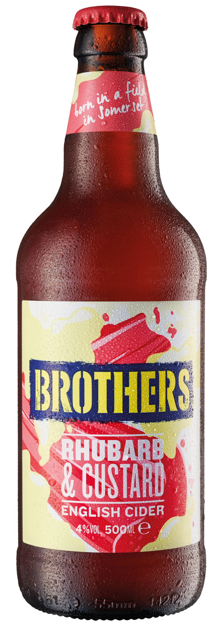 Brothers Rhubarb and Custard - 12 Pack