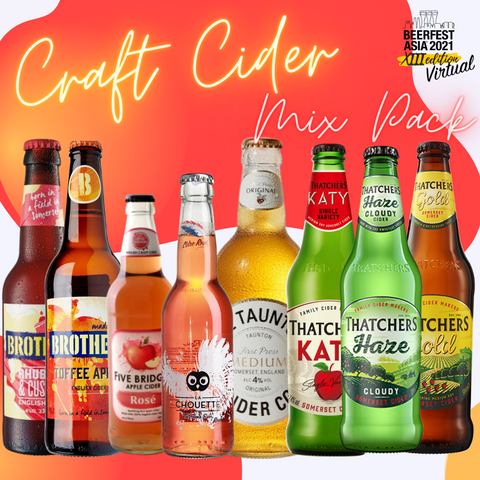 Craft Cider Mix Pack (12 Ciders)