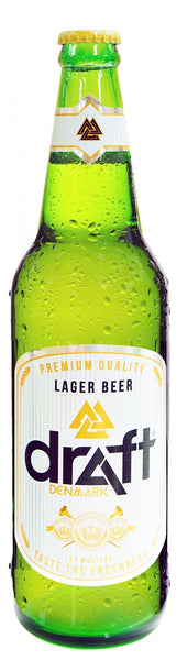 Draft Denmark Lager Draft Pint 330ml - 24s Carton
