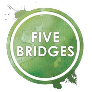 Five Bridges Strawberry & Lime 500ml - 12 Pack