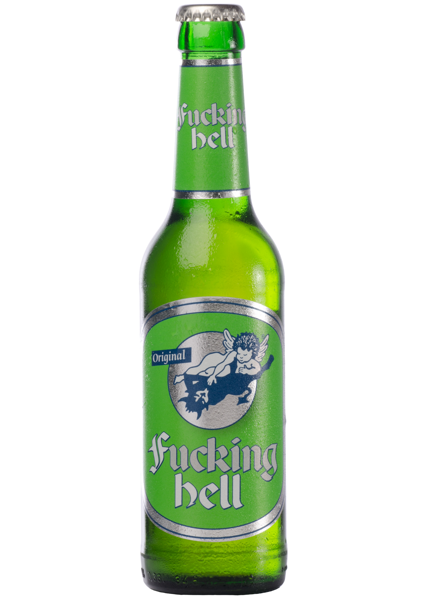 F- - - ing Hell Lager 330ml - 24s Carton