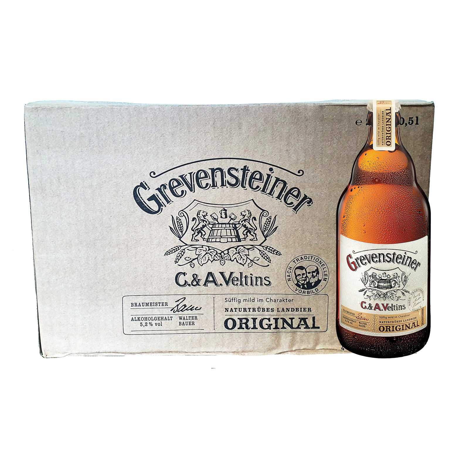 Grevensteiner Original 5.2% 16x 500ml bottles