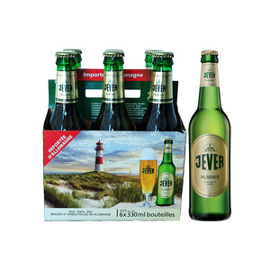 Jever Pilsener 4.9% 330ml - 6 Pack