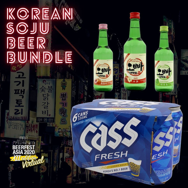 Korean Soju Beer Bundle