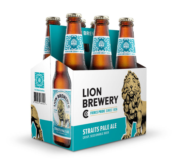 Lion Brewery Straits Pale Ale - 6 Pack