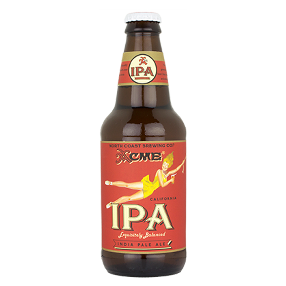 North Coast ACME IPA -  6s or 24s Carton