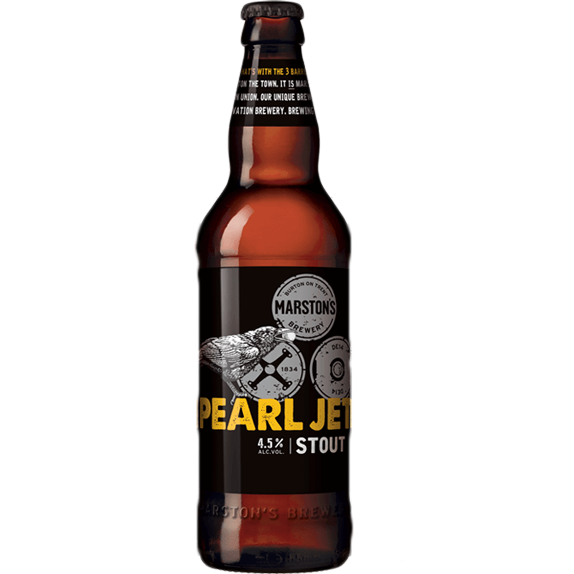 Marston's Pearl Jet Stout 500ml - 12 Pack