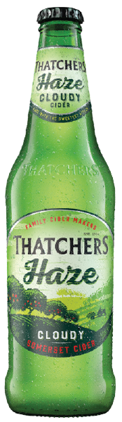 Thatchers Somerset Haze 500ml - 12 Pack