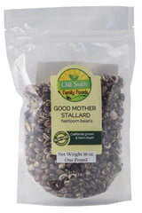 Chili Smith Good Mother Stallard Heirloom Beans - Whole-food, plant-based