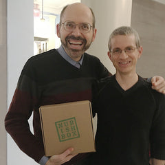 Kristopher from Nurish Box & Dr Michael Greger of NutritionFacts.org