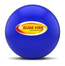 "Load image into Gallery viewer, ELIDE FIRE® Extinguishing 4"" Ball Blue (Engine Room Bracket)"