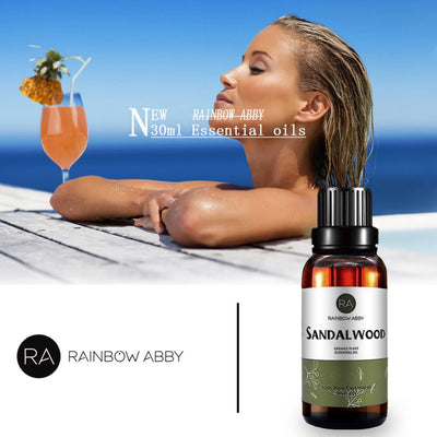Rainbow Abby Pure Sandalwood Essential Oil | 100% Natural Aromatherapy