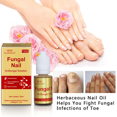 Nail Anti-Fungal Solution | Moisturizing Herbs Essence Oil for Nails