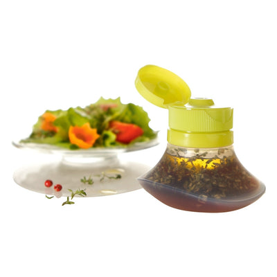 Salad Dressing Plastic Squeeze Bottle | Condiment Easy Squeeze Silicone Dispenser