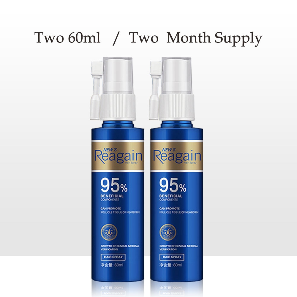 2pcs Hair Growth Oil Treatment Anti Hair Loss Men Beard Growth Oil Topical Solutions Repair Damage Hair Roots Hair Care Products|Hair Loss Products