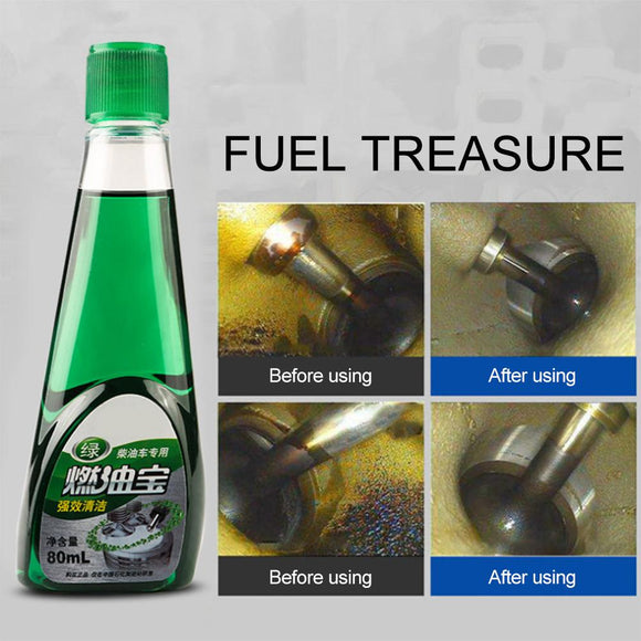 Car Fuel Treasure Diesel Additive | Engine Carbon Deposit Remover and Fuel Saver