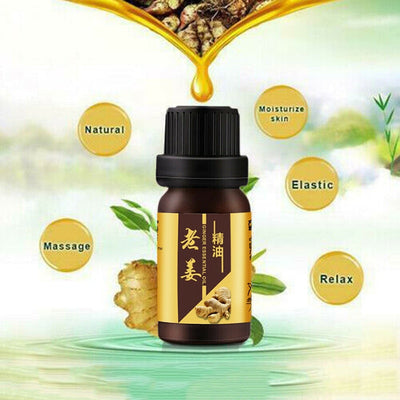 Ginger Anti-Cellulite Essential Oil | Body Wrap Slimming Fat Burner Oil