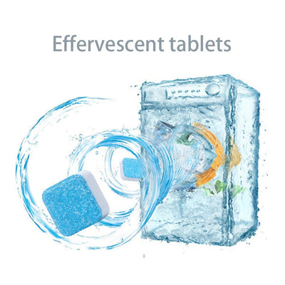 Washing Machine Tank Cleaning Tablets | Washer Decontamination Effervescent Tablet