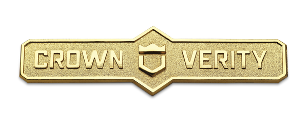 Crown Verity Name Plate with Hardware