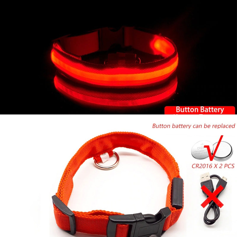 MULTICOLORED LED PET COLLAR