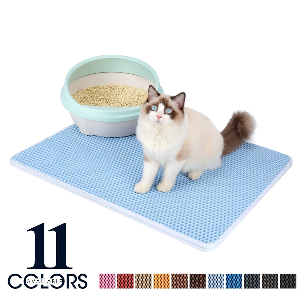 AMAZING CAT LITTER MAT