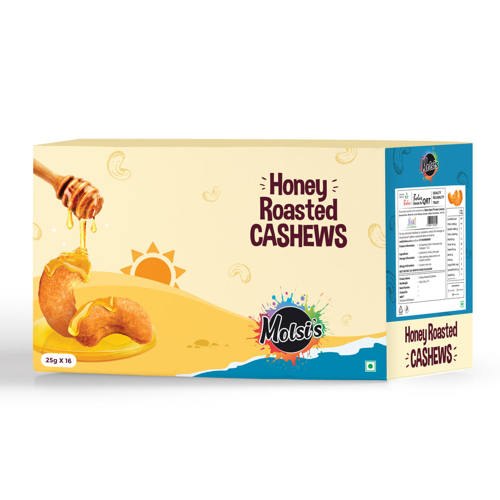 Honey Roasted Cashews (25g X 16)