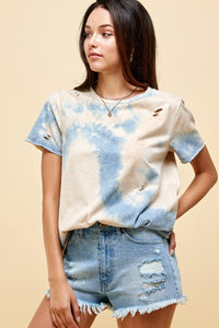 Damsel in Distressed- Tie Dye Tee
