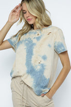 Load image into Gallery viewer, Damsel in Distressed- Tie Dye Tee