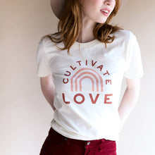 Load image into Gallery viewer, Cultivate Love Adult T Shirt