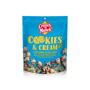 Load image into Gallery viewer, Crunch 'n Munch Cookies & Cream Popcorn 156g