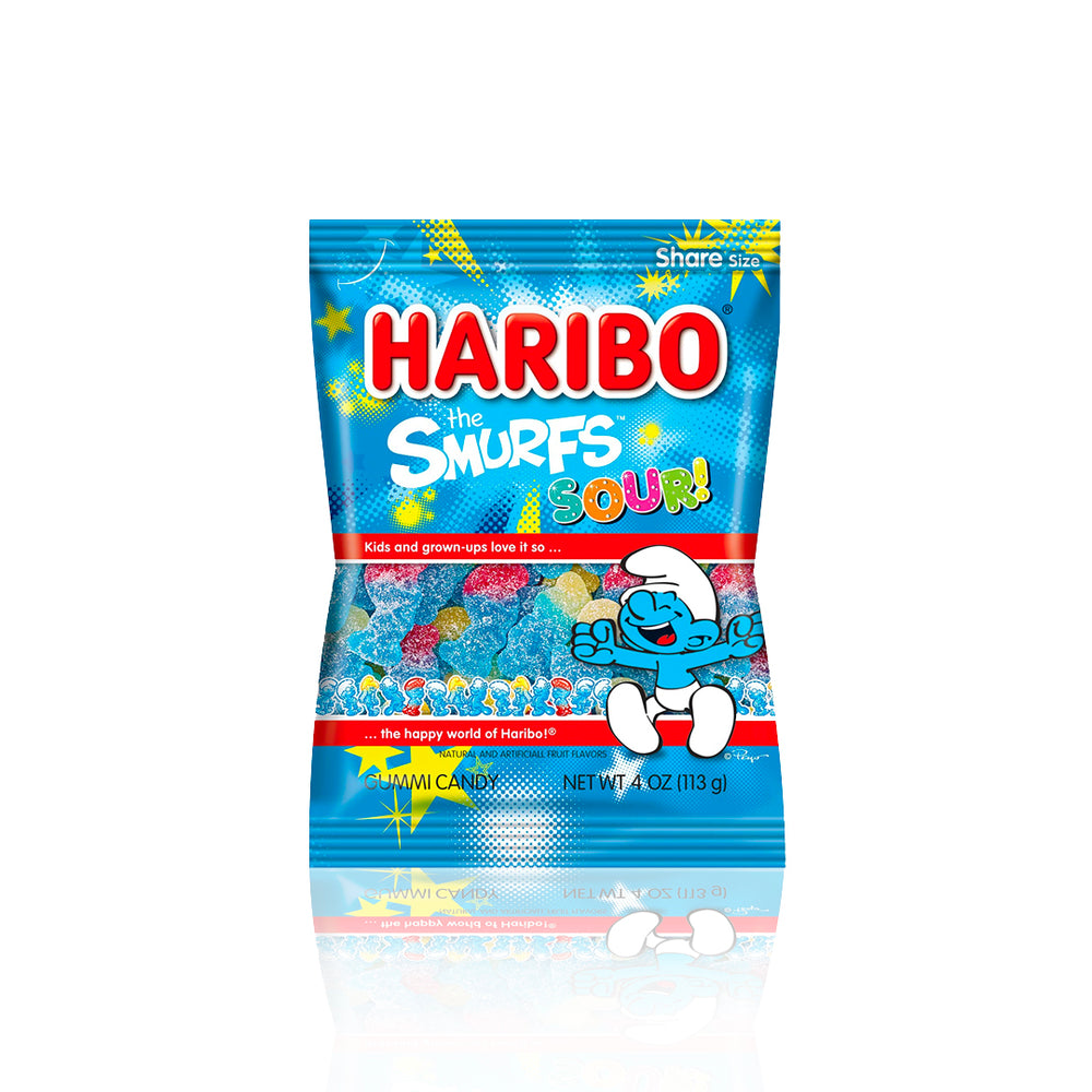 Load image into Gallery viewer, Haribo Sour Smurfs 113g