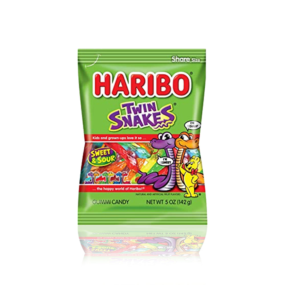 Load image into Gallery viewer, Haribo Twin Snakes 142g