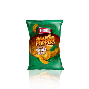 Herrs Jalapeno Poppers Cheese Curls (crisps) 28g