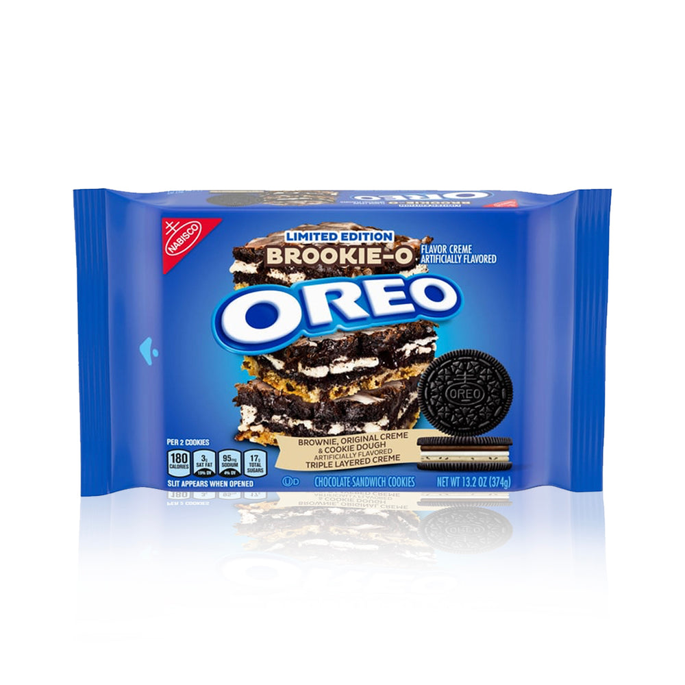 Oreo Brookie-O Limited Edition Sandwich Cookies 374g