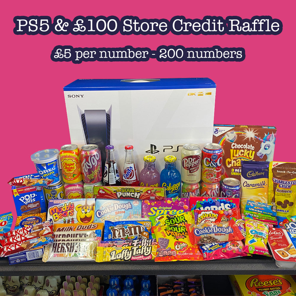 PS5 & £100 Store Credit Raffle