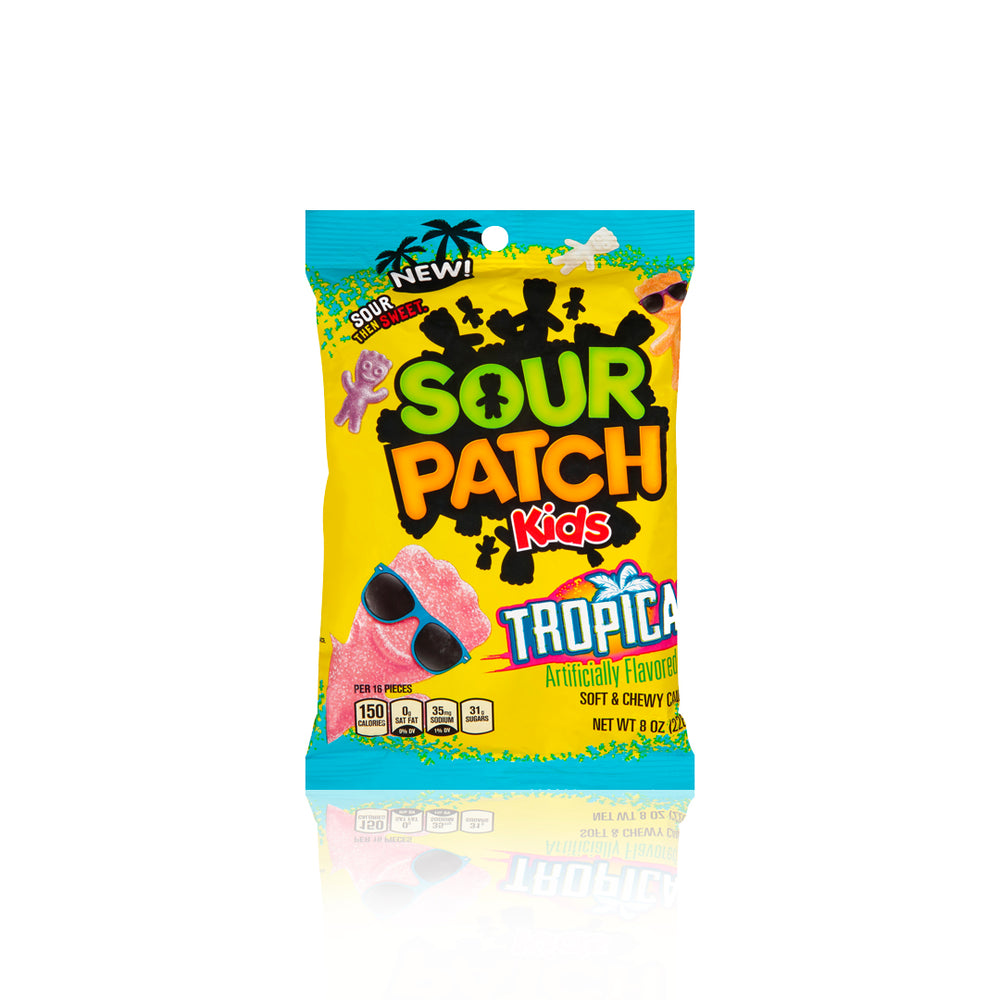 Sour Patch Kids Tropical Peg Bag 141g