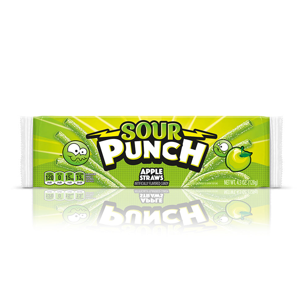 Sour Punch Straws Apple 56g