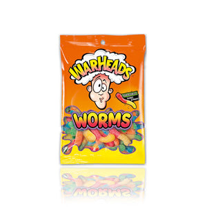 Load image into Gallery viewer, Warheads Peg Bag Worms 141g