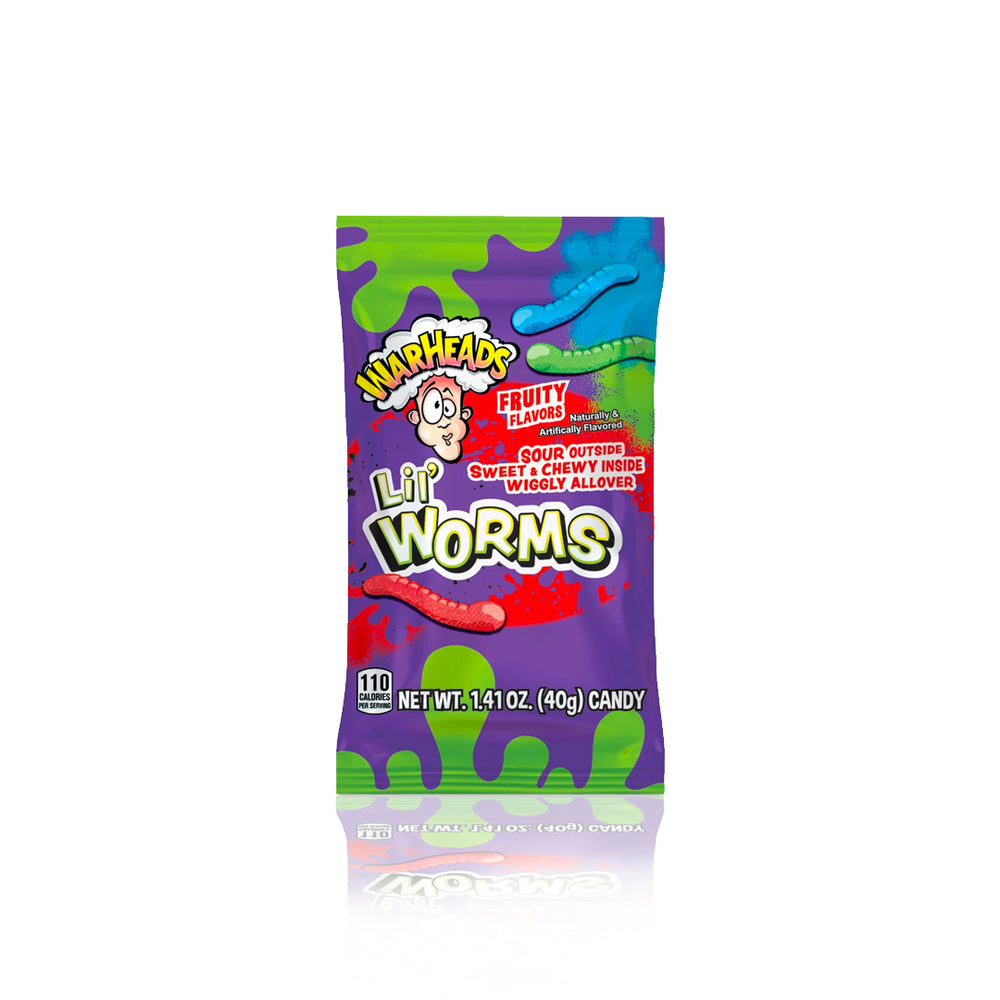 Warheads Lil' Worms 40g