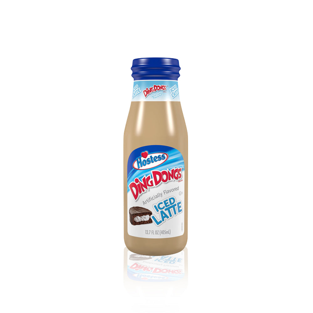 Hostess Iced Latte Ding Dongs 405ml