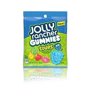 Jolly Rancher Gummies Sours Peg Bag 141g