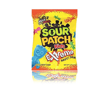 Load image into Gallery viewer, Sour Patch Kids Extreme Peg Bag 113g